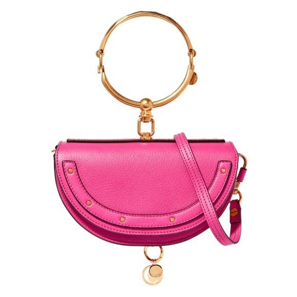 Chloe Handbags - New Chloe Small Nile Bracelet Minaudiere Bag